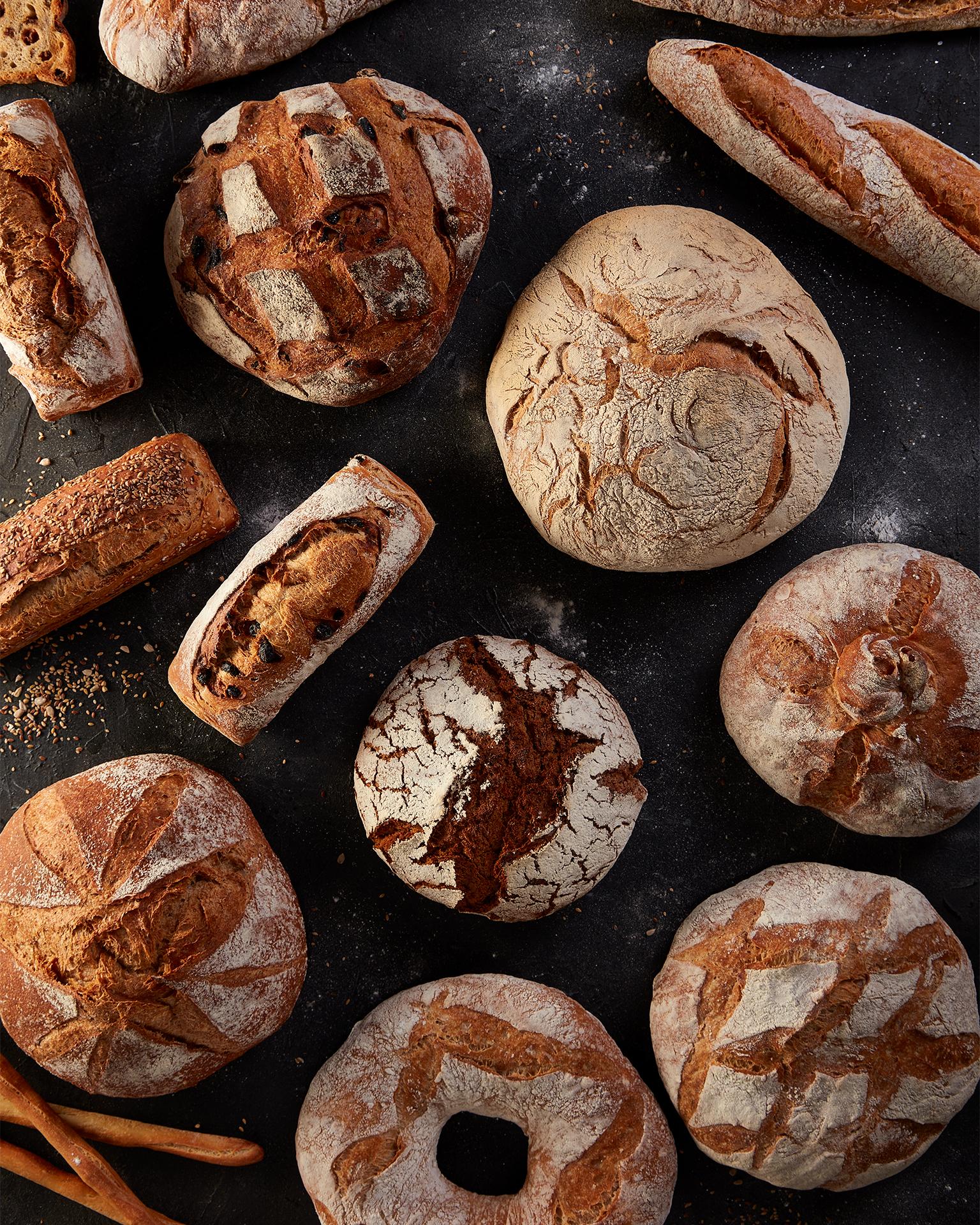 Pan do pais panadería Santa Cruz 1951